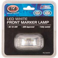 SCA Side Marker - LED, White, 10-30V, , scaau_hi-res