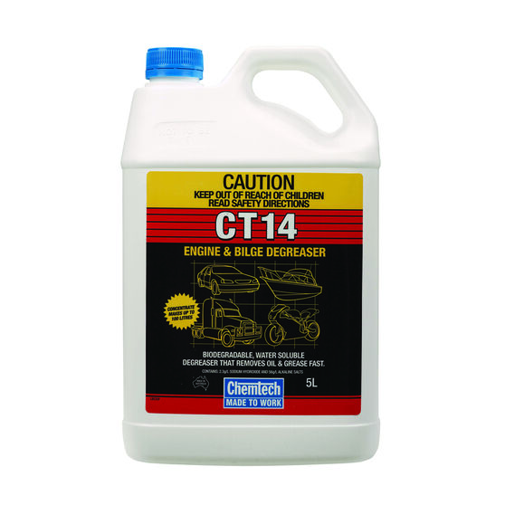 Chemtech CT14 Degreaser - 5 Litre, , scaau_hi-res
