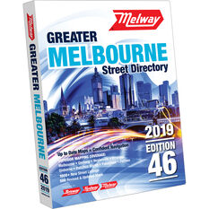Melway Melbourne Street Directory - 46th Edition, 2019, , scaau_hi-res