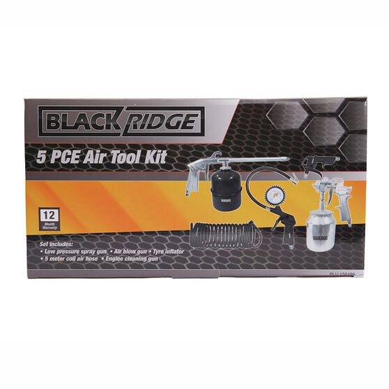 Blackridge Air Tool Kit - 5 Piece, , scaau_hi-res