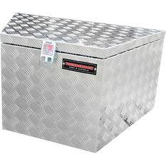 Thunderbox Aluminium Checkerplate Tool Box Wedge Shape - SWCP900, , scaau_hi-res