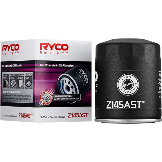 Ryco Syntec Oil Filter Z145AST (Interchangeable with Z145A), , scaau_hi-res