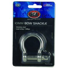 SCA Bow Shackle - Stainless, 10mm, , scaau_hi-res