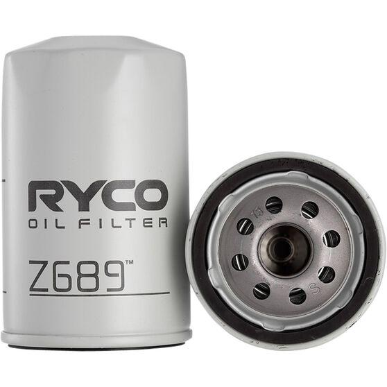 Ryco Oil Filter - Z689, , scaau_hi-res