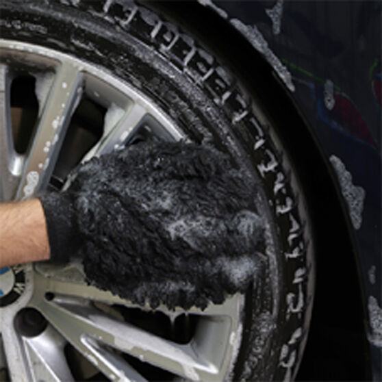 Turtle Wax Microfibre Wheel & Trim Gorilla Glove, , scaau_hi-res
