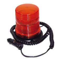 SCA Flashing Safety Light - 12V, Amber, Magnetic Base, , scaau_hi-res