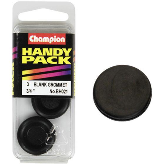 Champion Blanking Grommet - 3 / 4inch, BH021, Handy Pack, , scaau_hi-res