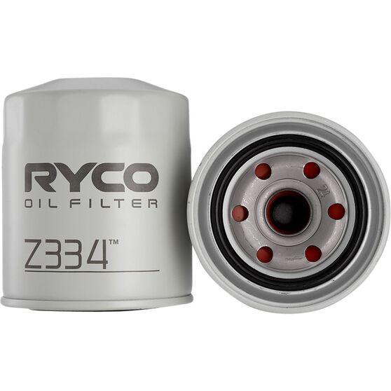 Ryco Oil Filter - Z334, , scaau_hi-res