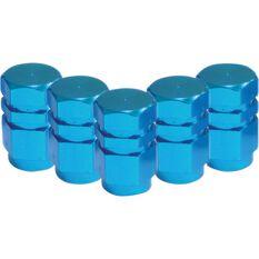 SCA Valve Stem Caps - Blue, 5 Pack, , scaau_hi-res