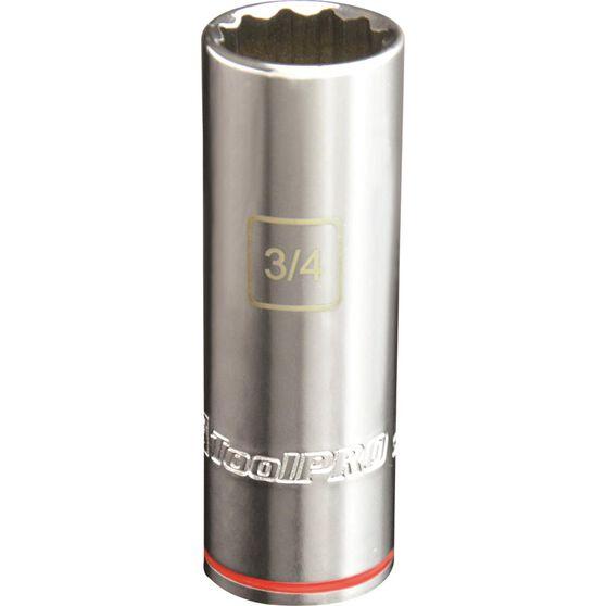 ToolPRO Single Socket - Deep, 1 / 2 inch Drive, 3 / 4 inch, , scaau_hi-res