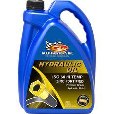Gulf Western Superdraulic Hi Temp Hydraulic Oil ISO 68 5 Litre, , scaau_hi-res