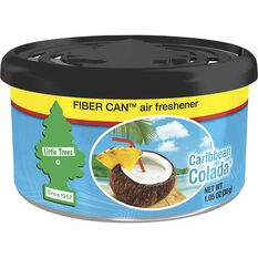 Little Trees Air Freshener Cannister - Caribbean Colada, 30g, , scaau_hi-res