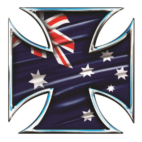 Hot StuffSticker - Aussie Iron, Chrome, , scaau_hi-res
