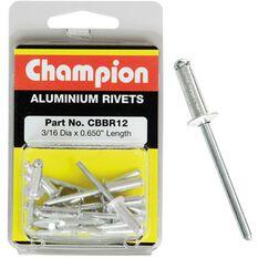 Champion Rivet Pack - 3 / 16 X 0.650, CBBR12, , scaau_hi-res