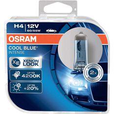 Osram Intense Headlight Globe - 12V, 60/55W, Cool Blue, H4, , scaau_hi-res
