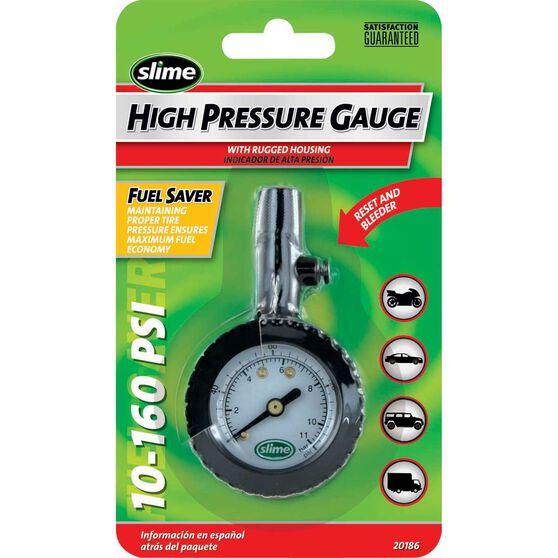 Slime High Pressure Tyre Gauge - 10-160 PSI, , scaau_hi-res