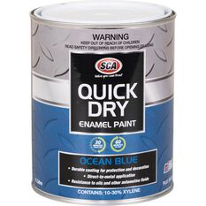 Quick Dry Enamel Blue 1 Litre, , scaau_hi-res