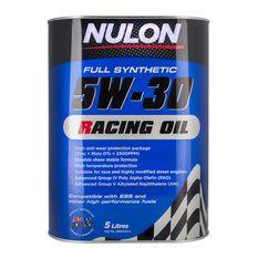 Racing Engine Oil - 5W-30, 5 Litre, , scaau_hi-res