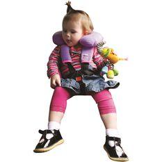 Little Car Seat Belt Buddies - Purple, Pair, , scaau_hi-res