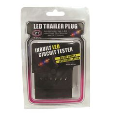 Trailer Plug - 7 Pin Flat, LED, , scaau_hi-res