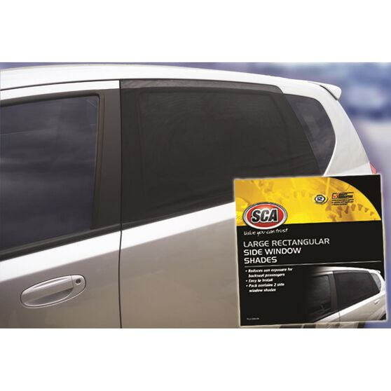 SCA Window Shade Side Large Rectangular Black Pair, , scaau_hi-res