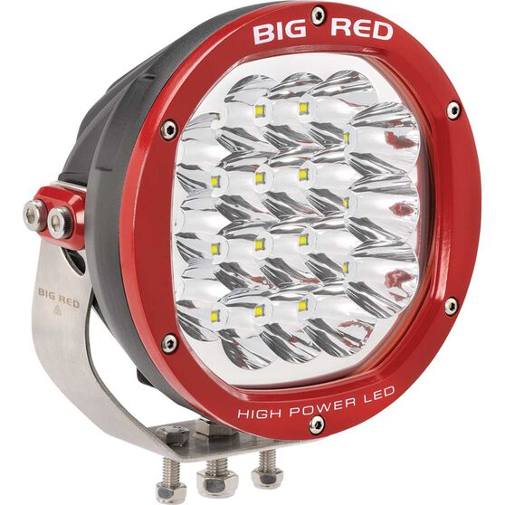 Big Red Driving Light - LED, High power, 180mm, , scaau_hi-res