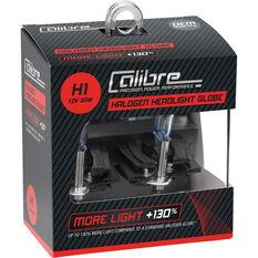 Calibre Headlight Bulb 12V H1 55W Plus 130, , scaau_hi-res