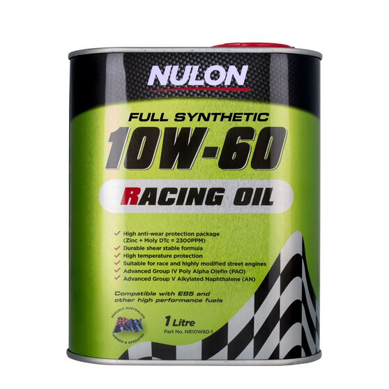 Racing Engine Oil - 10W-60, 1 Litre, , scaau_hi-res