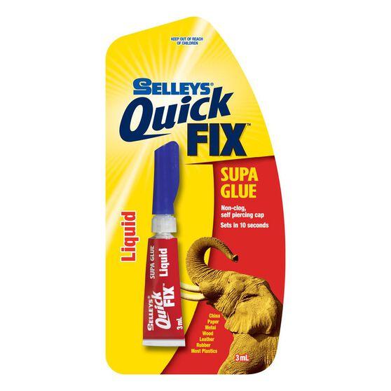Supa Glue - Quickfix, Liquid, 3mL, , scaau_hi-res