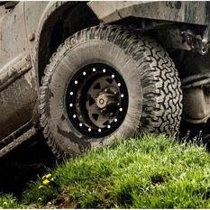 Autotecnica Beadlock Wheel Trim Simulator - Black, 16 inch, Single, , scaau_hi-res