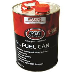 SCA Metal Fuel Can - 5 Litre, , scaau_hi-res