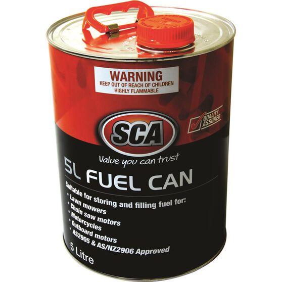 SCA Metal Fuel Can - 5 Litre, , scaau_hi-res