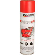 Dupli-Color Aerosol Paint Custom Wrap - Matte Performance Red, 396g, , scaau_hi-res