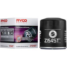 Ryco Syntec Oil Filter Z154ST (Interchangeable with Z154), , scaau_hi-res