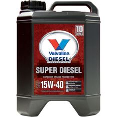 Valvoline Super Diesel Engine Oil - 15W-40 10 Litre, , scaau_hi-res