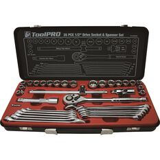 ToolPRO Tool Kit - Metric and AMP Imperial, 35 Pieces, , scaau_hi-res