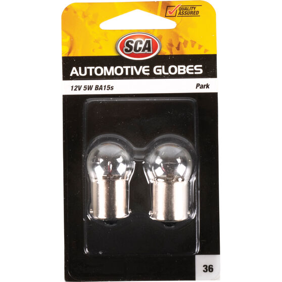 SCA Automotive Globe - Park, 12V, 5W, 2 Pack, , scaau_hi-res