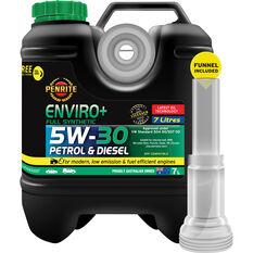 Penrite Enviro+ Engine Oil 5W-30 7 Litre, , scaau_hi-res