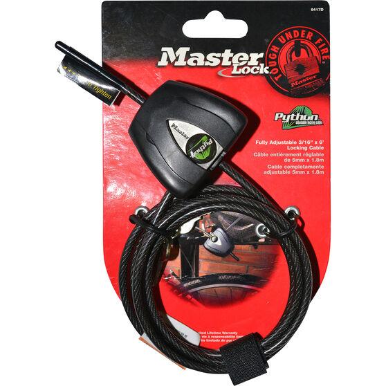 Master Lock Mini Cable Lock - 1.8m, , scaau_hi-res