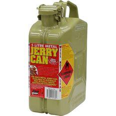 Metal Jerry Can - Diesel, 5 Litre, Olive, , scaau_hi-res