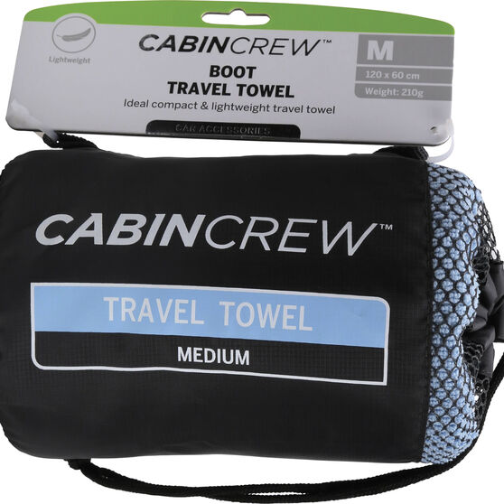 Cabin Crew Boot Towel - Blue, , scaau_hi-res