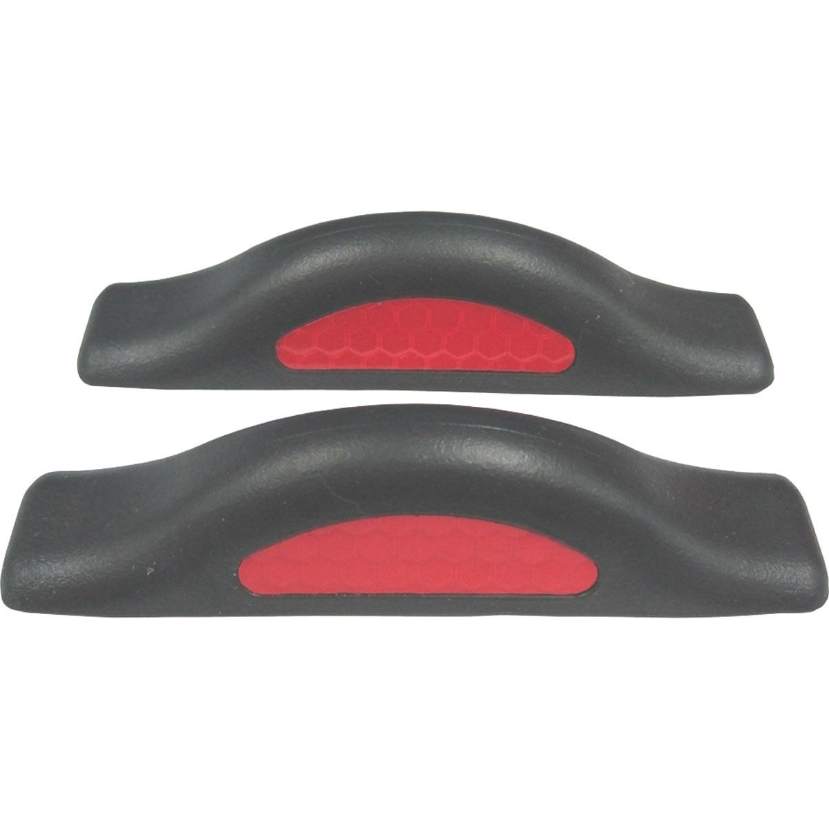 SET OF 2 REFLECTIVE DOOR GUARDS REFLECTIVE EDGE RED PROTECTORS UNIVERSAL SAFETY