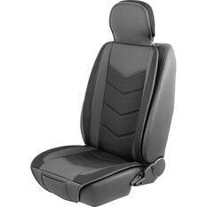Cabin Crew Seat Cover Cushion - Black, , scaau_hi-res