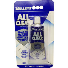 Selleys Sealant - Multi-Purpose, All Clear, 80g, , scaau_hi-res