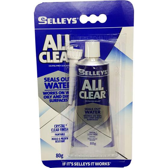 Selleys Sealant - Multi-Purpose, All Clear, 80g, , scaau_hi-res