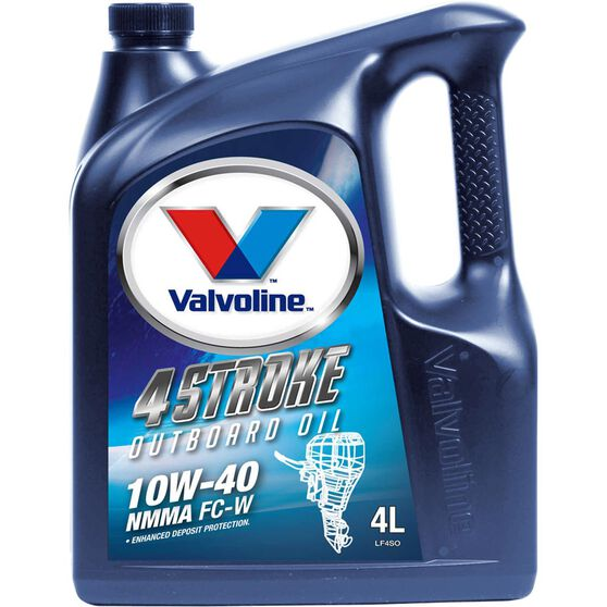 Valvoline Four Stroke High Performance Outboard Oil - 4 Litres, 3 Pack, , scaau_hi-res