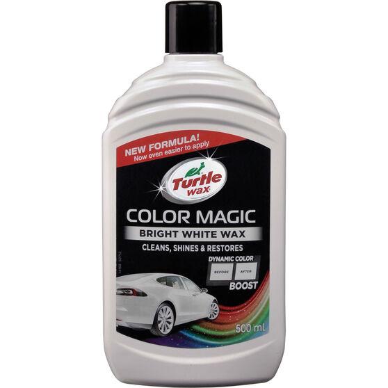 Turtle Wax Color Magic Polish White 500mL, , scaau_hi-res