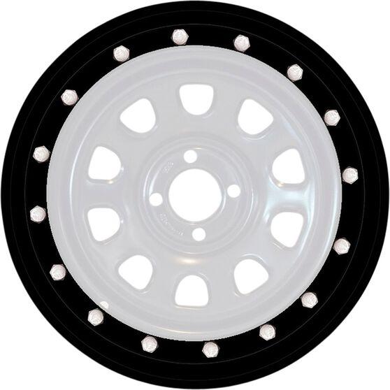 Autotecnica Beadlock Wheel Trim Simulator - Black, 15 inch, Single, , scaau_hi-res