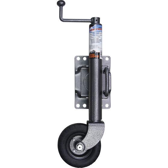 Ridge Ryder Swing Jockey Wheel - 6 inch, Hammer, , scaau_hi-res