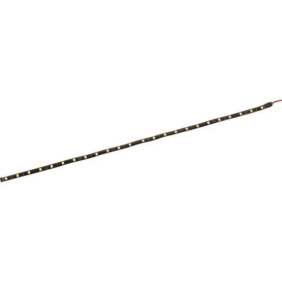 SCA Strip Light - LED, 12V, 60cm, Flexible, Black, , scaau_hi-res